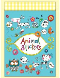 Image of Stickers in match book - Animal Stickers